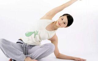 Упражнения при загибе желчного пузыря