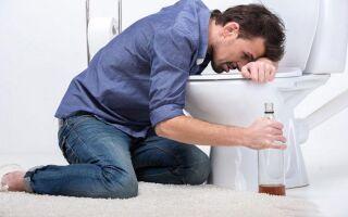 Почему тошнит и рвет желчью после алкоголя