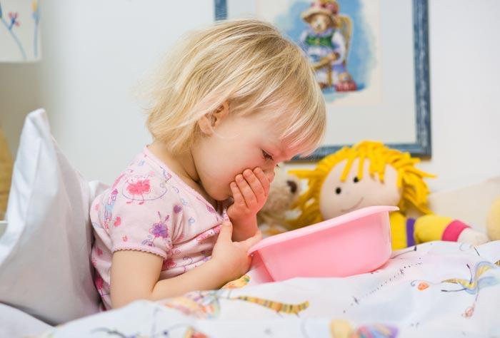 рвота желчью у ребенка