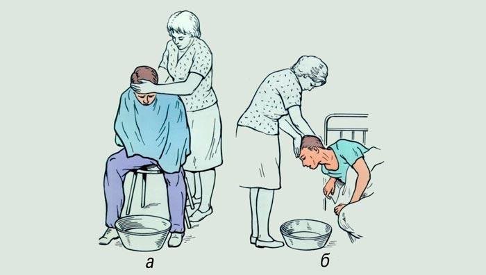 первая помощь при рвоте