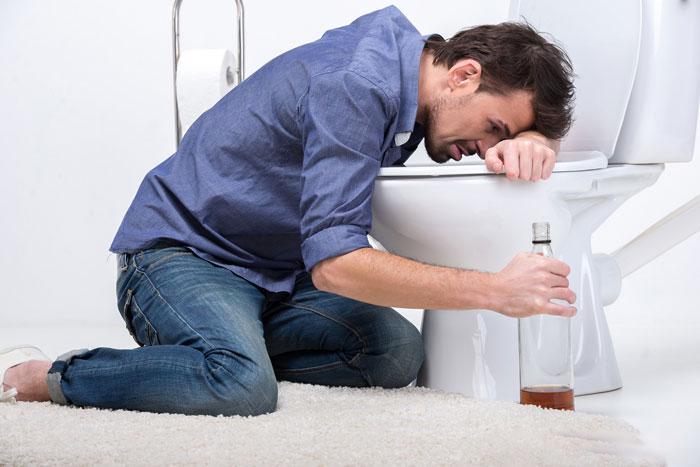 рвота после алкоголя