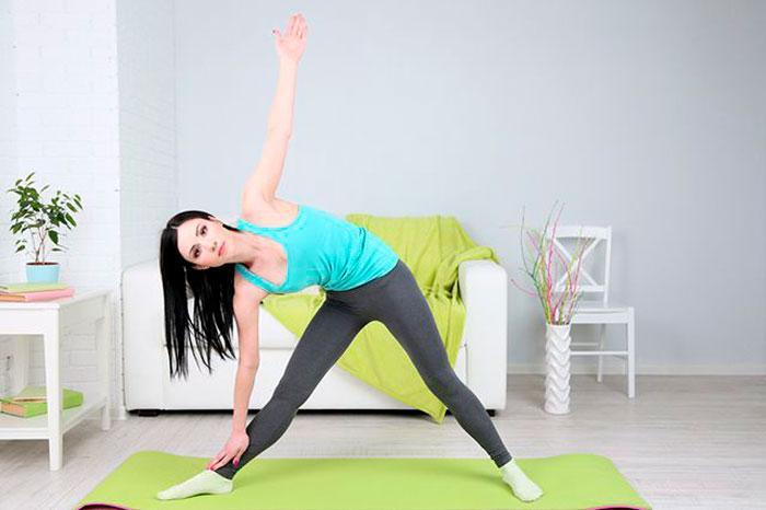 упражнение с наклонами