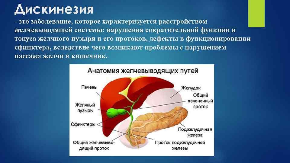 Дискинезия - анатомия и определение