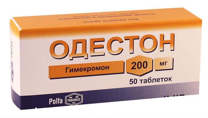 Одестон таблетки