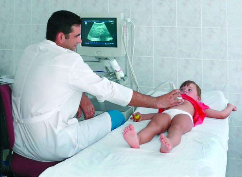 УЗИ желчного пузыря ребенку