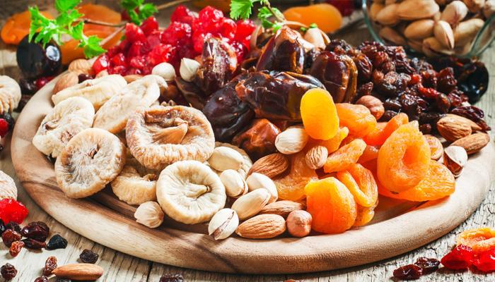 Сушенные фрукты