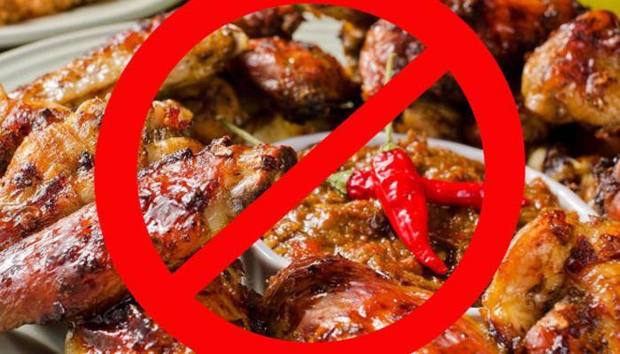 Отказ от жаренной пищи
