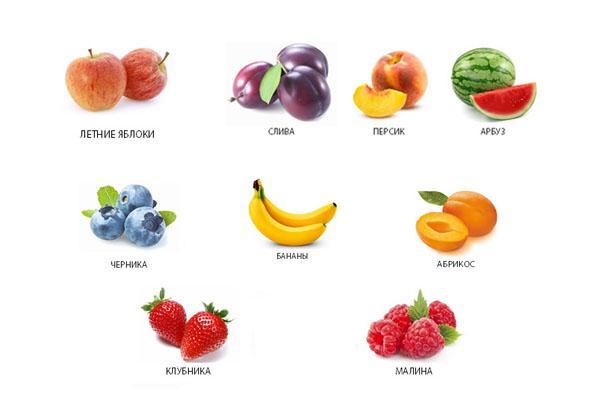 Разрешенные фрукты после удаления желчного