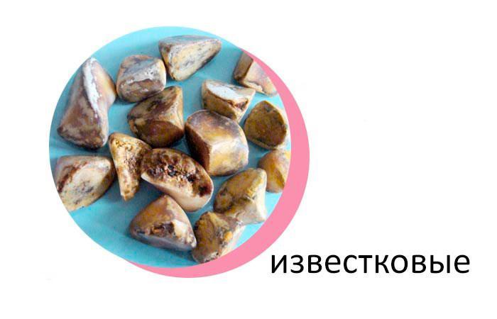 Известковые камни