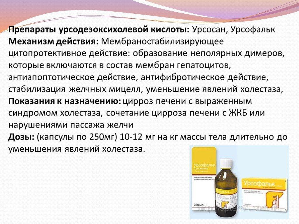УДХК препарат