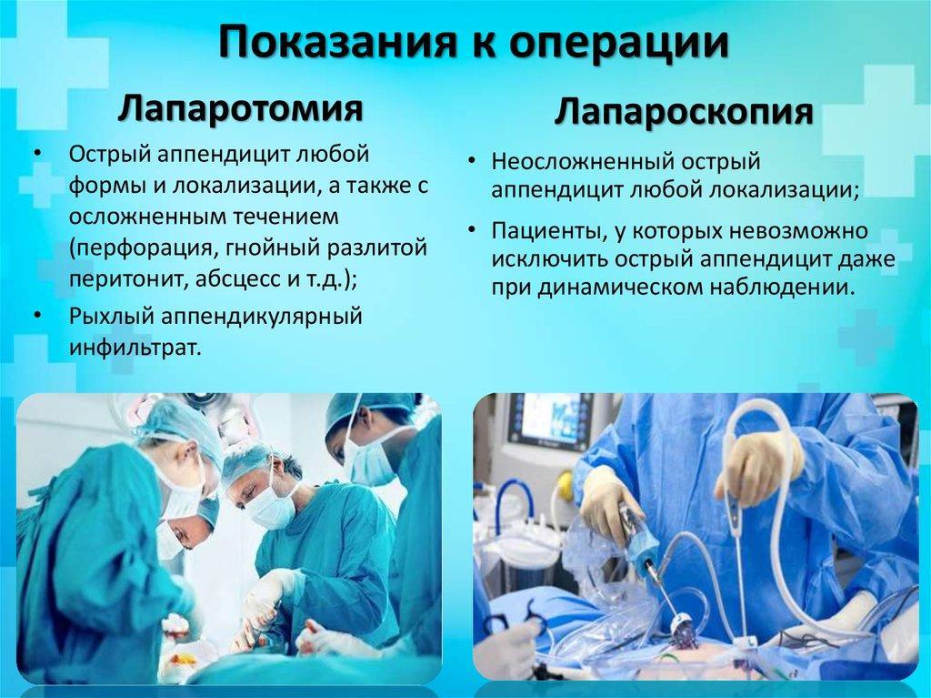 Показания к операции