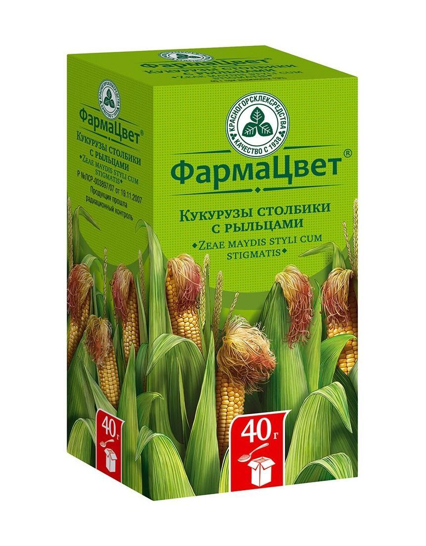 Препарат с рыльцами кукурузы