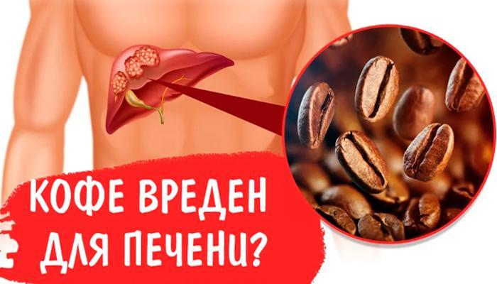 Вреден ли кофе для печени?