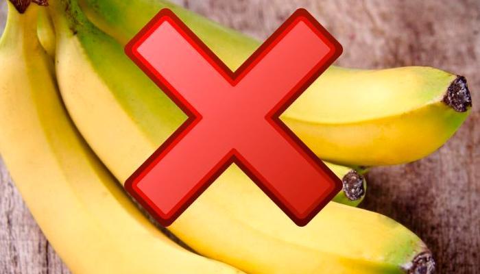 Противопоказания к употреблению банана